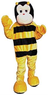 Bumble Bee Mascot Adult Costume One Size - Standard