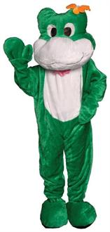 Frog Mascot Adult Costume One Size
