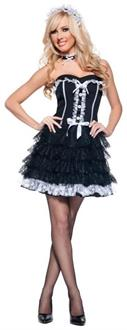 Women's Fifi French Maid Mini Dress Costume
