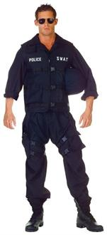 Swat Adult Male Costume