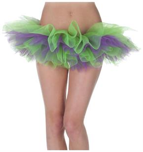 Tutu Green And Purple Skirt