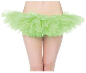 Women's Tutu Neon Green Skirt - Standard