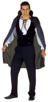 Men's Cape Taffeta Black One Size - Standard