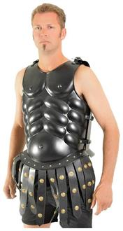 Men's Skirted Muscle Armor Black Accessory - Standard