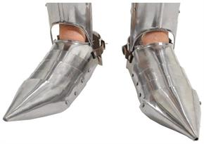 Roman Greek Steel Foot Armor Shoes