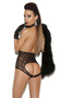 Women's Vivace Lace Cupless Teddy - One Size