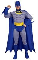Batman Brave and Bold Deluxe Muscle Chest Adult Costume