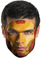Iron Man Face Tattoo