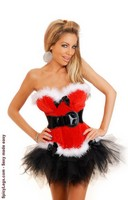 Holiday Flirt Bustier and Petticoat