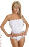 2 PC Bridal Cami Set