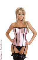 Vegas Nights Strapless Corset