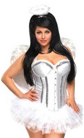 Plus Size 4 PC Sweet Angel Costume