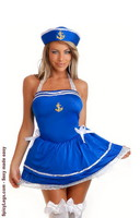 2 PC Sassy Sailor Costume
