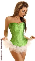 Strapless Sparkle Corset and Pettiskirt