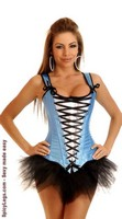 Lace-Up Alice Corset and Pettiskirt