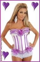 Purple Passion Burlesque Corset