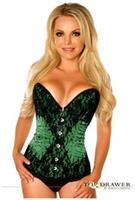 Steel Boned Beaded Corset