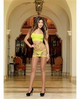 Seamless Versatile Strapless Dress and G-String