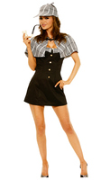 4 pc sassy detective dress