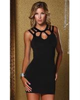 Open Back Keyhole Enrapture Dress