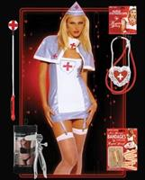 Halloween pvc nurse costume