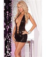 Shimmer Sequin Mini Dress