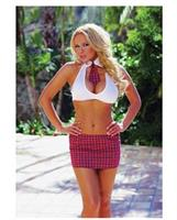 3 pc Extra Credit School Girl Costume