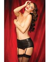 Show Girl Classic High Waisted Sequin Garter Brief