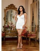 Silky Microfiber Chemise with Thong