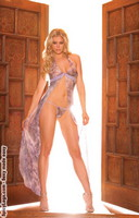Halter neck full length gown with matching g-string