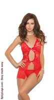 Halter Style Baby doll and Matching g-string