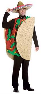 Cinco De Mayo Costumes Men-Taco Costume