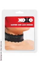 Leather and Lace Choker