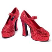 Sexy Eden (Red Glitter) Adult Shoes