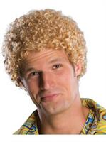 Tight Fro Blonde Wig Adult