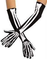 Skeleton Opera Adult Gloves