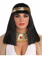 Cleopatra Adult Wig with Headband
