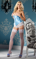 Busk-Front Waist Cincher with Metal Stays