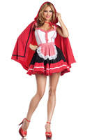 3 Piece Romantic Red Riding Hood