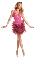 Sequin Feather Dress