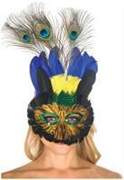Feather Mask 8.5  X 14.5
