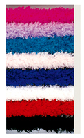 150 Gram Feather Boa, 6Ft, Solid Color