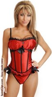 Peasant Princess Burlesque Corset