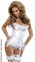 Underwire Padded Bustier