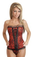 Burlesque Lace-Up Corset