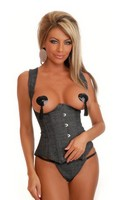 Denim Dream Underbust Corset