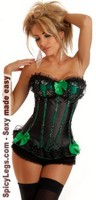Sequin Seduction Burlesque Corset