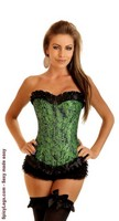 Mother Nature Burlesque Corset
