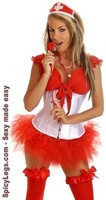 5 PC Sexy Nurse Costume