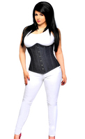 Top Drawer Denim Underbust Corset Top